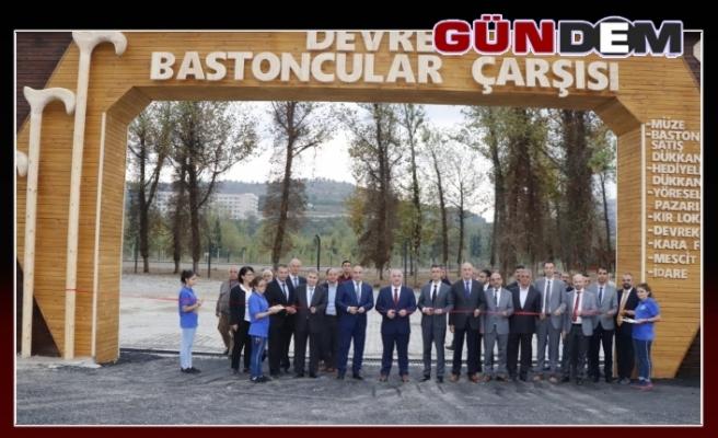 Devrek Baston Satış Merkezi, Müzesi Ve Doğa Kültür Parkı Açıldı