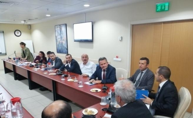 Düzceli belediyelerden Ankara'da İSKİ Zirvesi