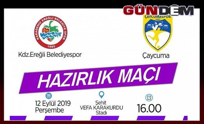 Ereğli Belediyespor hazırlık maçına çıkıyor