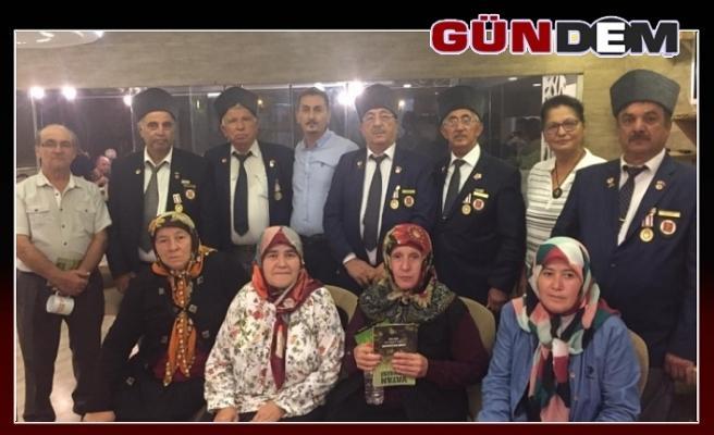 Gaziler onuruna ADD Başkanı Onur yemek verdi!