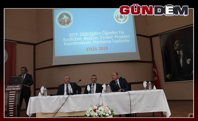 Koordinasyon Toplantısı Vali Bektaş başkanlığında yapıldı