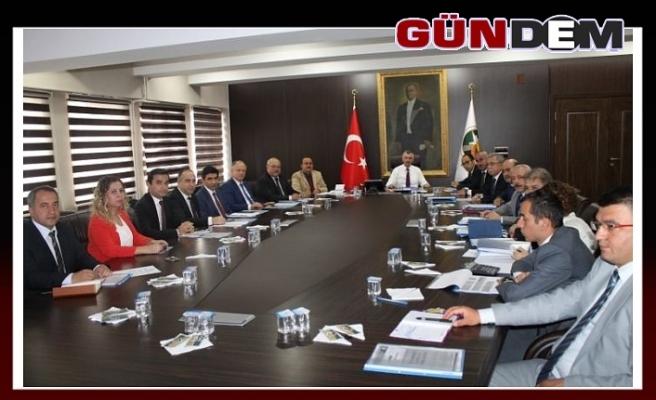 Köydes Toplantısı Vali Bektaş Başkanlığında yapıldı
