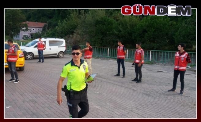Polis ekipleri göz açtırtmadı