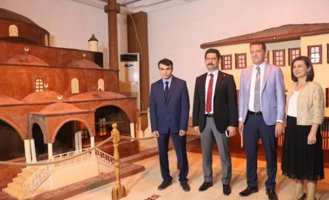 """Tarihi kentte """"Çikolata Müzesi"""" açıldı"""