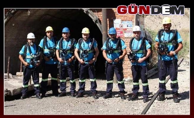 Türkiye'de ilk kez Maden Arama Kurtarma Yarışması yapılıyor