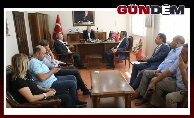 Türkmen ve Çolakoğlu'ndan Altay'a ziyaret