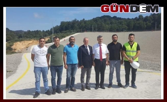 Vali Bektaş, Sapça'daki çöp tesisini inceledi