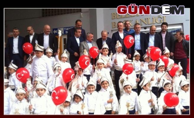 Zonguldak Belediyesi'nden sünnet şöleni!