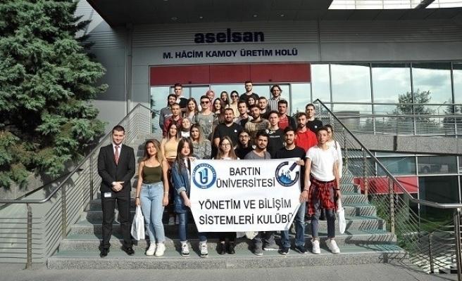 Bartın Üniversitesi öğrencileri ASELSAN'ı ziyaret ettiler