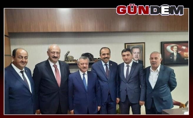 Başkan Demirtaş projeler için Ankara'ya gitti!..