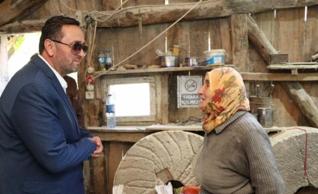 Başkan Yanmaz'dan anlamlı ziyaret