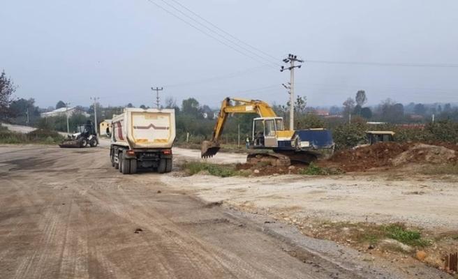 Beyköy'de asfalt çalışmaları hız kazandı