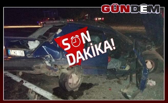 Zonguldak- Ankara karayolunda kaza: 4 yaralı