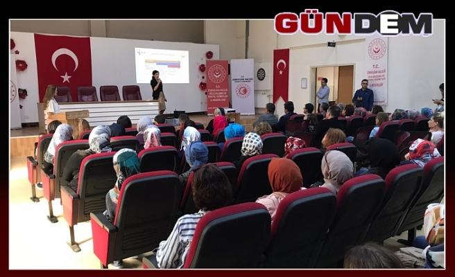 Kadınlara Yönelik hizmet semineri!..
