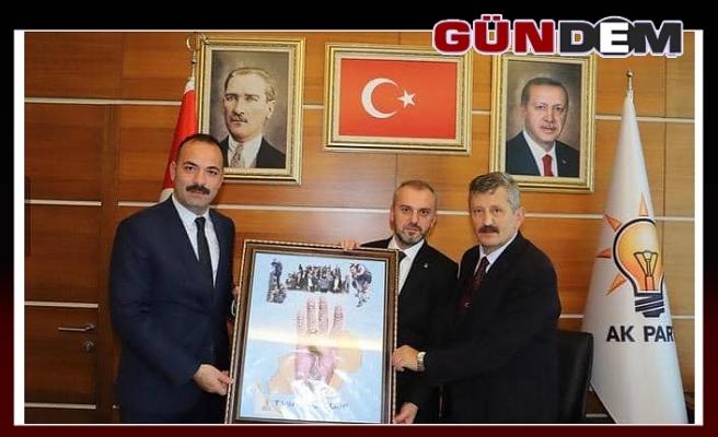 Kandemir'e Zonguldak'ın Rabia'sını hediye ettiler