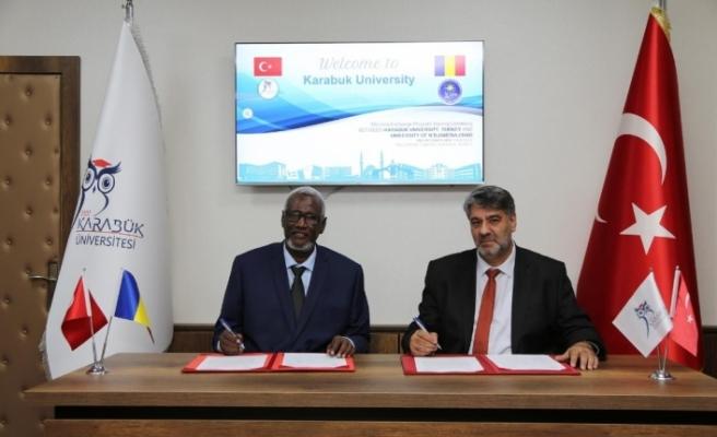 KBÜ ile Çad N'Djamena Üniversitesi arasında iş birliği genişliyor