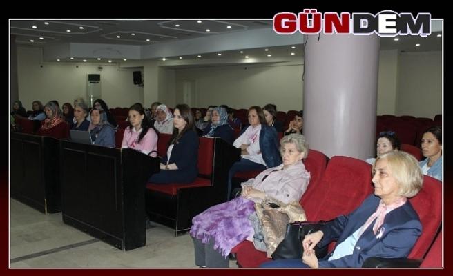 Meme kanseri farkındalık konferansı düzenlendi!