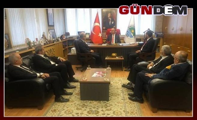 Saadet Partisi'nden Başkan Alan'a ziyaret