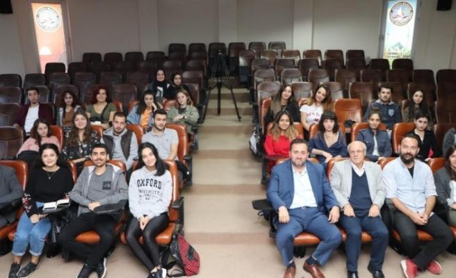 Şehir plancı öğrenciler Başkan Yanmaz ile buluştu