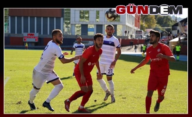 Zonguldakspor evinde yine kayıp; 0-0