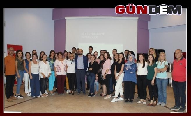 """Zonguldak'ta """"Bağımlılığı Değil, Hayatı Seç"""" eğitimi sona erdi"""