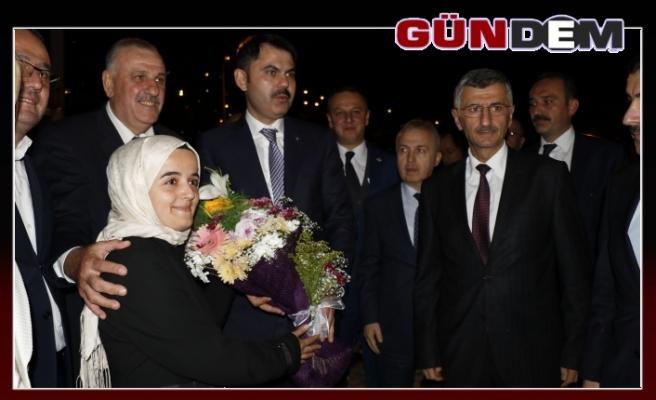 Bakan Kurum, Başkan Bektaş'ı ziyaret etti