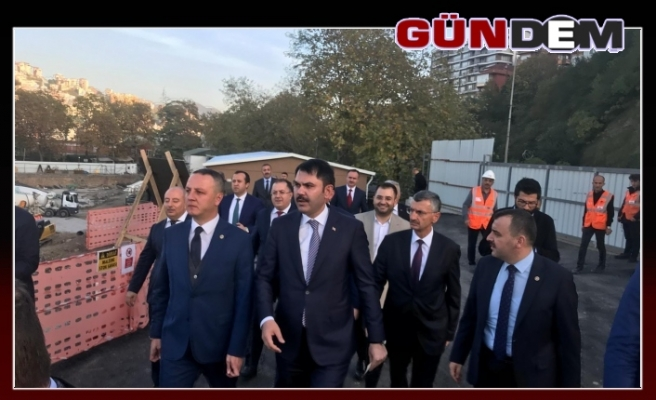 Bakan Kurum Zonguldak'ta