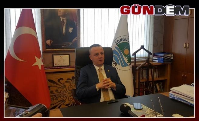 'BAKANIMIZ ELİ KOLU DOLU GELDİ'