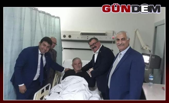 Başkan Aydoğan iyileşiyor