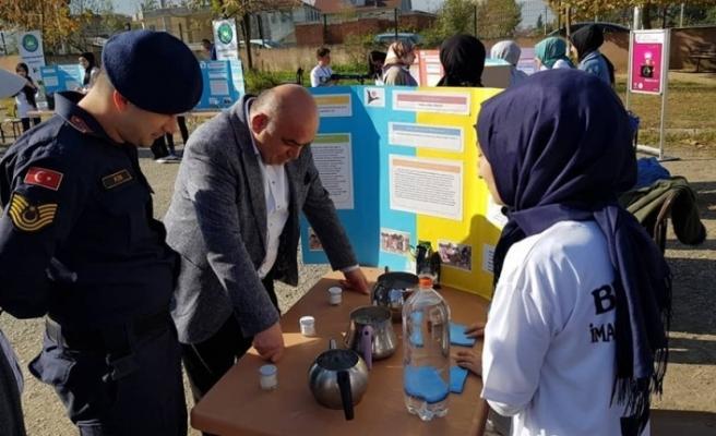 Başkan Kılıç, öğrencilerin yaptığı çalışmaları inceledi
