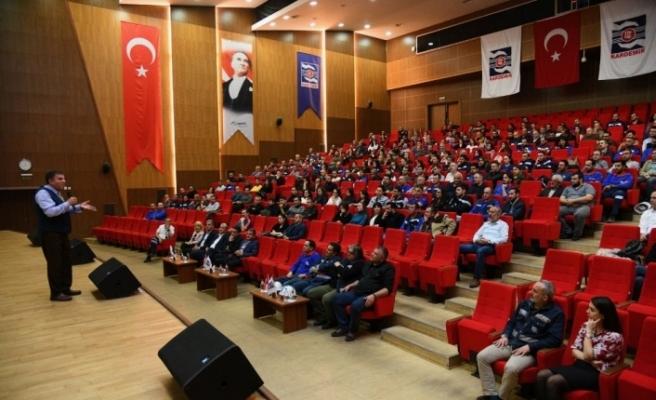 KARDEMİR'de işçilere 'Çalışma Sevinci' semineri verildi