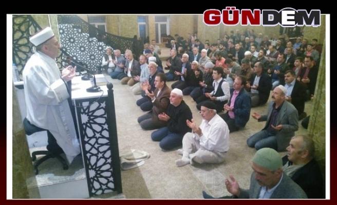 Zonguldak'ta Mevlit Kandili dualarla idrak edildi