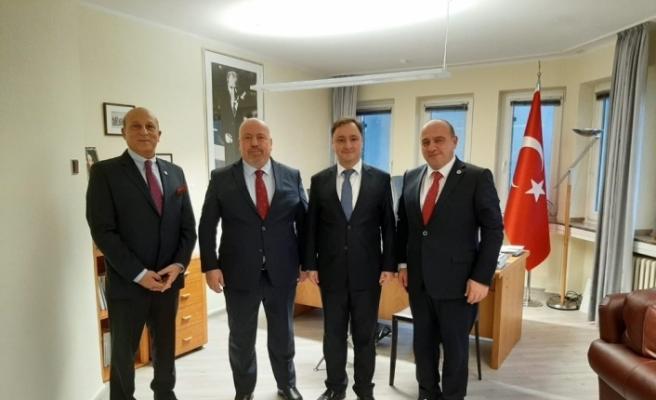 ATGB'den, Başkonsolos Davaz'a ziyaret
