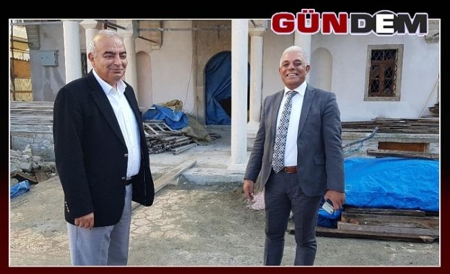 Başkan Bozkurt  bilgi aldı...
