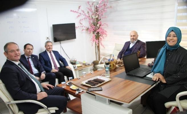 Başkan Türkyılmaz'dan Devrek'e ziyaret...