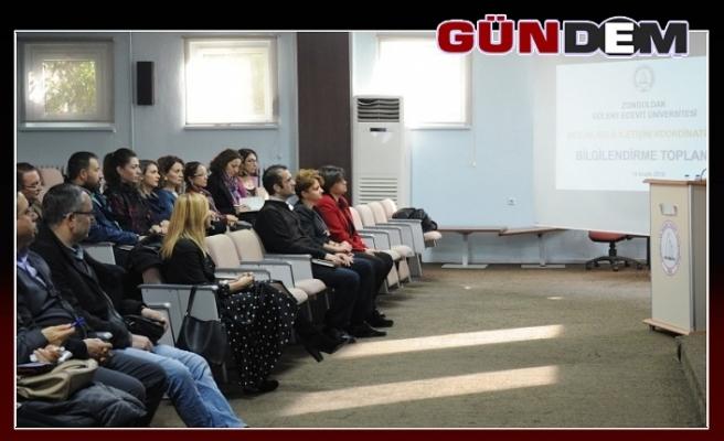 BEÜ'de mezunlarla iletişim stratejileri değerlendirme toplantısı