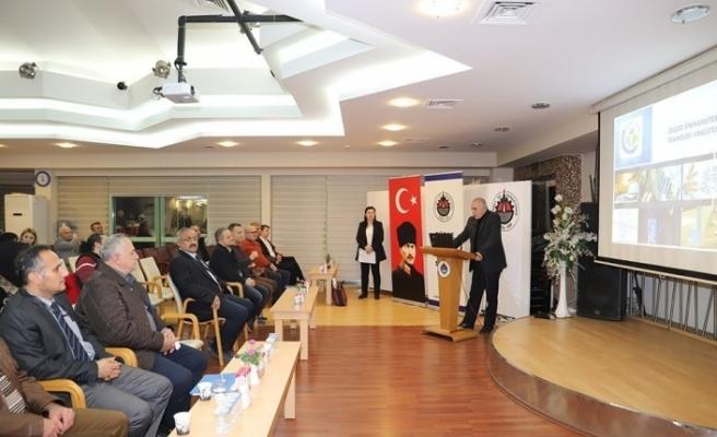 """DTSO Başkanı Şahin, """"Üniversite-sanayi işbirliği çok önemli"""""""