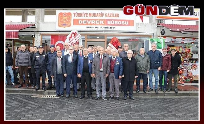 GAZİLER DERNEĞİ'NE YER TAHSİSİ YAPILDI