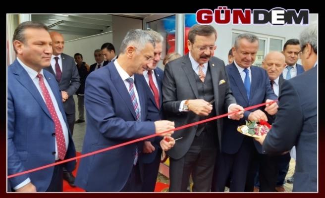 """Hisarcıklıoğlu: """"Filyos Limanı ile birlikte bölge bambaşka hal alacak"""""""