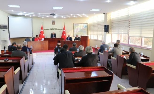 Karabük İl Genel Meclisi Aralık ayı toplantısı
