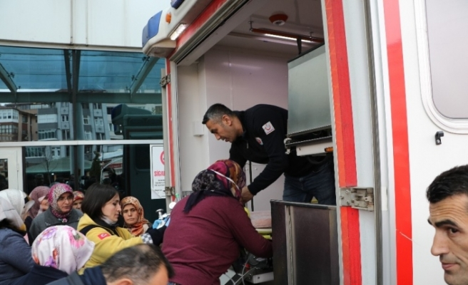 Karabük'te 3 kişi karbonmonoksitten zehirlendi