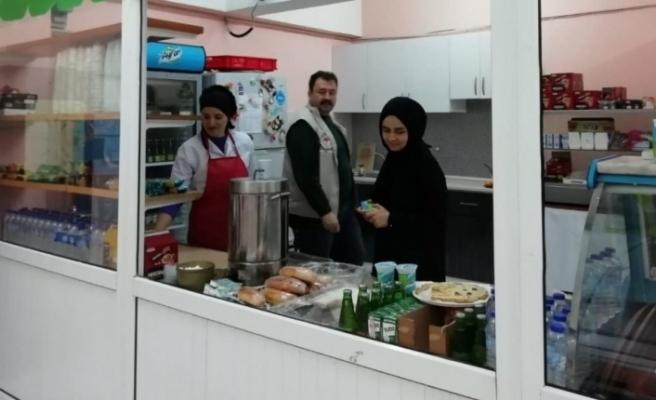 Karabük'te kantin ve yemekhane denetimleri yapıldı