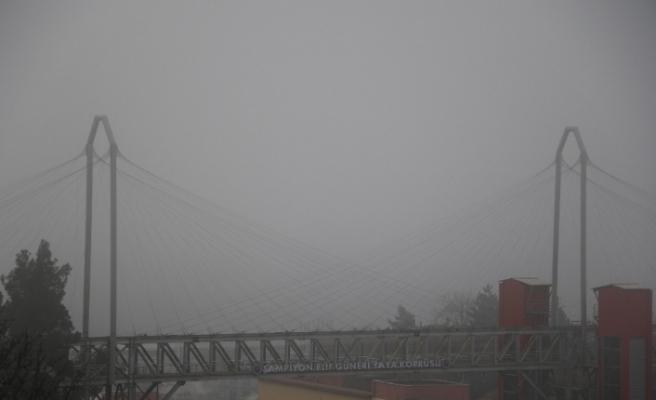 Karabük'te sis etkili oldu