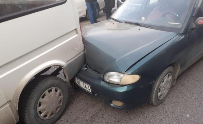 Karabük'te zincirleme kaza