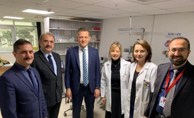 Kaymakamdan Safranbolu Devlet Hastanesi'ne ziyaret