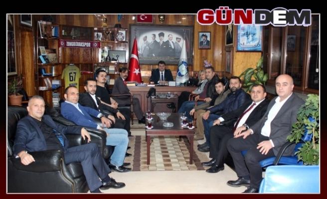 MADENCİ KOROSU, GMİS'E TEŞEKKÜR ETTİ