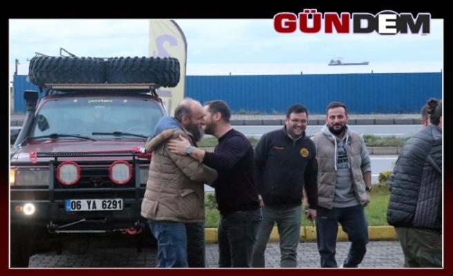 'Oflu Hoca' Karadeniz'e Off Road yapmaya geldi...