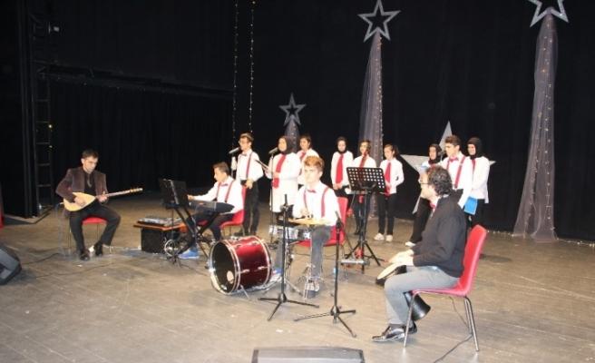 Özel öğrencilerden özel konser