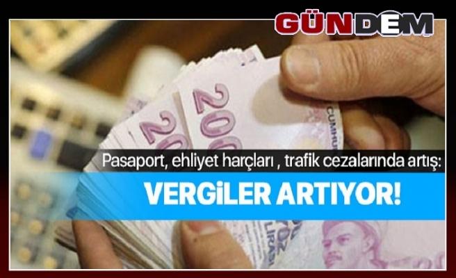 Ehliyet, pasaport ve trafik cezalarına 2020 zammı!...