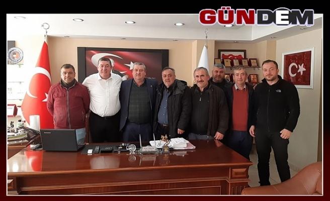 PAZARCILARDAN TEKİN'E ZİYARET